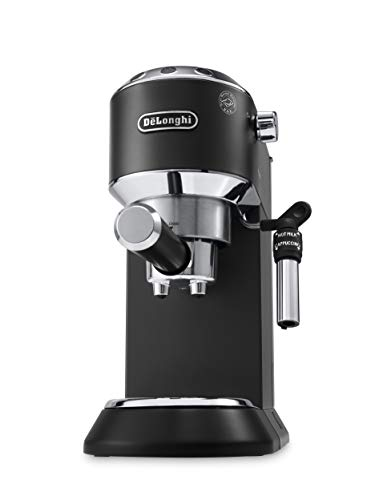 Delonghi EC685.B DEDICA 15-Bar Pump Espresso Machine Coffee Maker, Black, 220 Volts (Not for USA - European Cord)