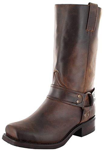 Sendra Boots9809 - Stivali da Motociclista Unisex – adulto , Marrone (Mad Dog Tang), 47