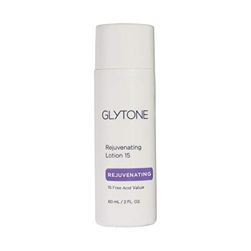 Glytone Rejuvenating Lotion with 15 Free Acid Value Glycolic Acid, Lightweight Face Moisturizer, Exfoliator, Normal to Oily Skin, 1.7 oz.