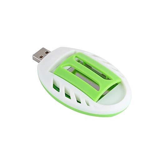 lingzhuo-shop USB-muggen- elektrische muggenpropeller-zomerslaapmoskito-afweerweerwierookbrander draagbare kluis voor binnen en buiten