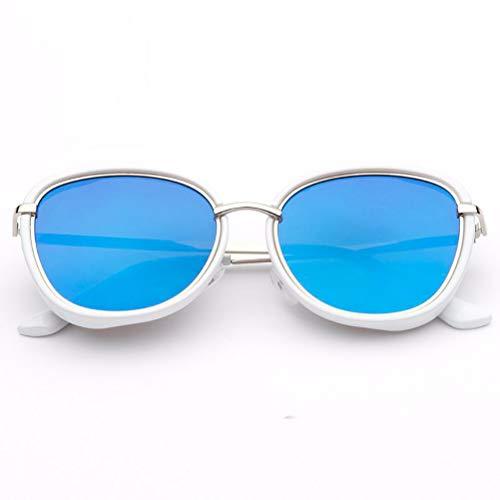 YRE Gafas de Sol para niños, versión Coreana de la Tendencia de Metal Marco de Gafas de Sol de los niños, Gafas de Sol Cien Chicos Chica Lentes, 3-8 años de...