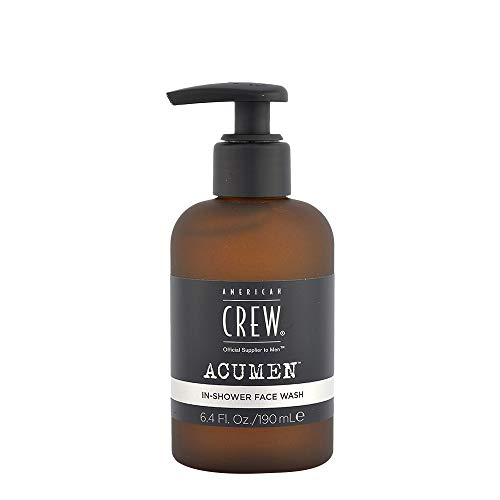 American Crew ACUMEN In-Shower Face Wash, 190 ml