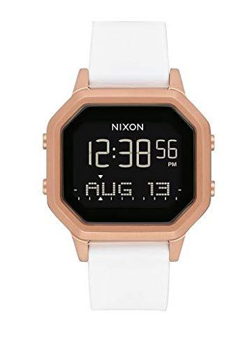 Nixon Reloj Digital para Mujer de automáticamente con Correa en Silicona A1211-1045-00