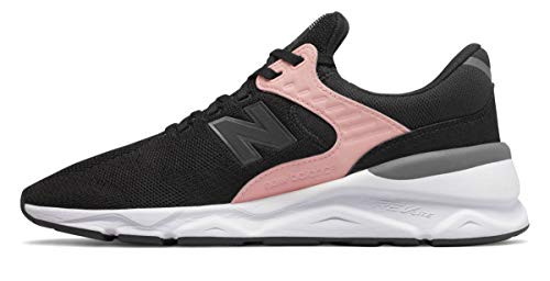 New Balance Schuhe – Lifestyle Retro 90s Schwarz/Rosa/Grau Größe: 42