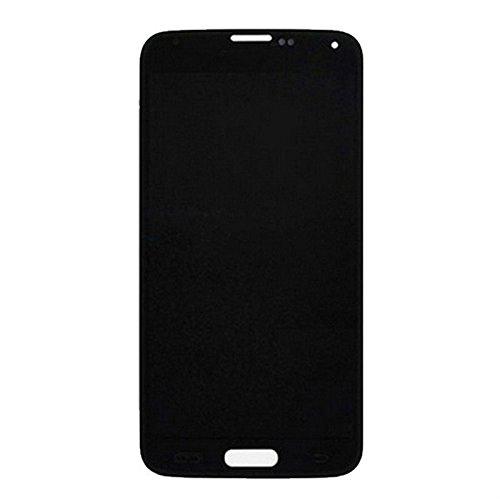 YEEWEN Spare Reemplazo de Piezas de reparación Pantalla LCD Original + Asamblea de digitalizador de Pantalla táctil para Samsung Galaxy S5 / G900 (Color : Negro)