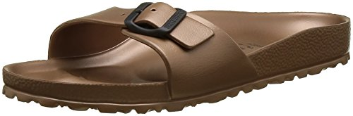 Birkenstock MADRID EVA, Ciabatte Donna, Marrone (Metallic Copper), 38 EU