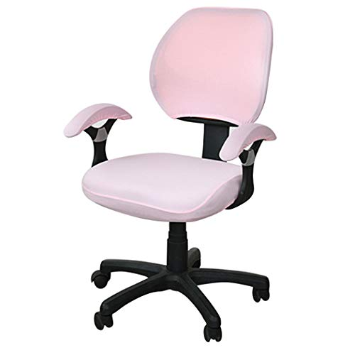 BEOTARU Office Chair Cover Computer Seat Covers Spandex Elastic Rotating Chairs Slipcovers