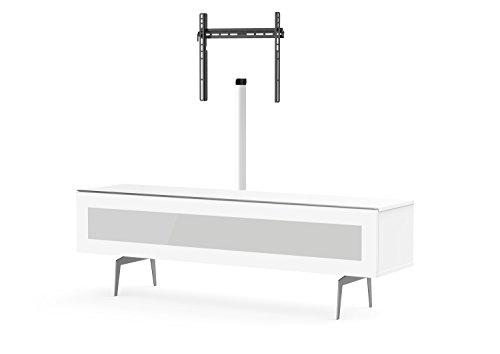 Meliconi Meuble TV, Bois, Blanc, 45 x 172 x 15 cm