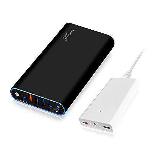 BatPower ProE 2 EX7B 98Wh Laptop Batería Externa Compatible con MacBook Pro Air Banco de energía Cargador Portatil con 120W Delgado Adaptador QC Tableta teléfono -para 2015 y Antes de la portátil