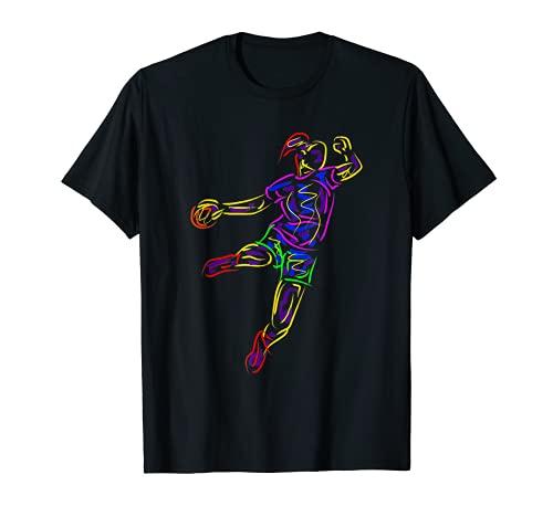 Handballerin Geschenk Handballer Sportler Handball T-Shirt