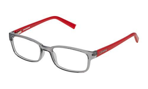 Converse VCO077Q500819 Gafas, Shiny Transp.Grey, 50/16/130 Unisex niños