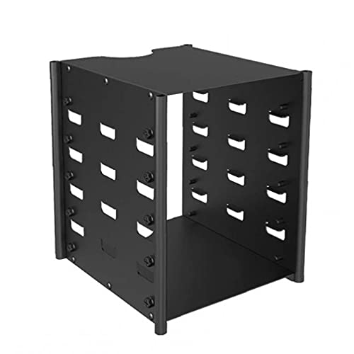 Caja del soporte del soporte del adaptador HDD del rack de la caja del disco duro con 5 capas Instalación sin herramientas de capacidad de almacenamiento
