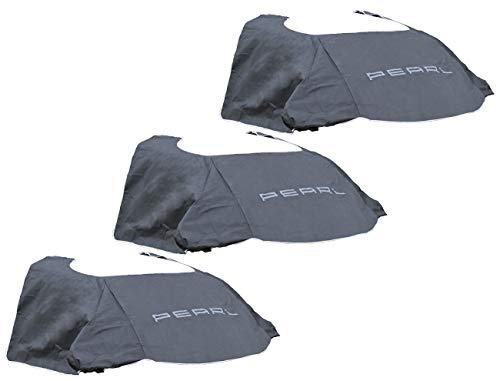 PEARL Autoabdeckung: 3er-Set Anti-EIS-Kfz-Scheibenabdeckung, Magnet-Fixierung, 270 x 94 cm (Frontscheibenabdeckung Magnet)