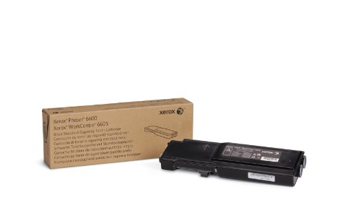 Xerox Phaser 6600/ WorkCentre 6605 Black Standard Capacity Toner Cartridge (3,000 Pages) - 106R02244