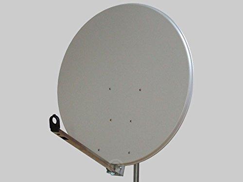 Antenne Gibertini 100 cm Alu Hellgrau L-Serie