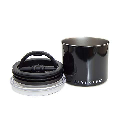 AirScape Vakuumdose Edelstahl 250 gr. (schwarz/Black)