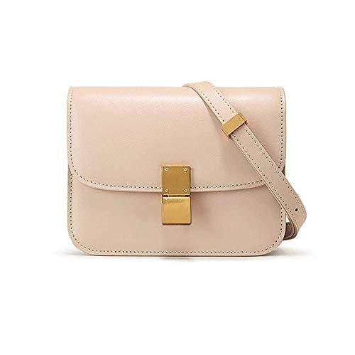 Einfache und vielseitige Klassische Tofu Tasche Textur Mode Orgel kleine quadratische Tasche Schulter Messenger Bag