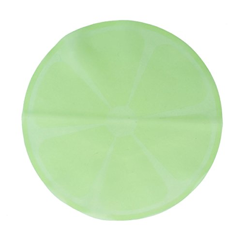 BESTonZON Couvercle Silicone Alimentaire de Bol Rond en Silicone Couvercles Alimentaires Extensibles Réutilisables (Vert)