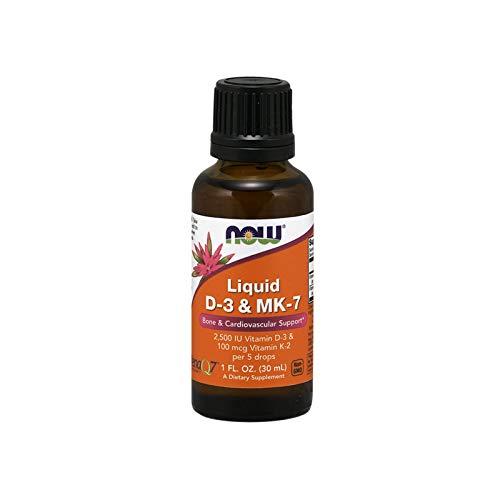 Liquid D-3 & MK-7 (30ml) - Now Sports