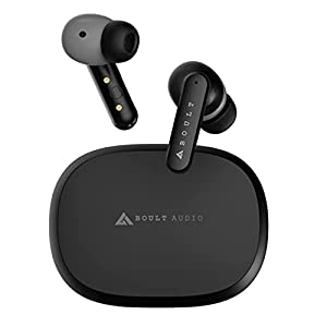 Boult Audio Encore TWS Earbuds, Quad mics for Pro+ Calling, 36H Playtime, Environmental Noise Cancellation, IPX7 Fully…