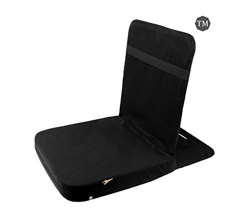FOM (Friends of Meditation) Back Jack Meditation Chair (Black)