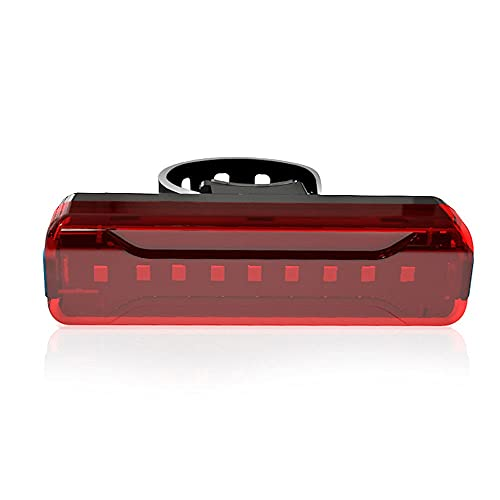 Dabeigouztoud linterna frontal, Las luces traseras Smart Bicycle, las luces traseras de la bicicleta se pueden cargar y encender/apagar automáticamente, IPX5 LED impermeable, más de 30 horas de tiem