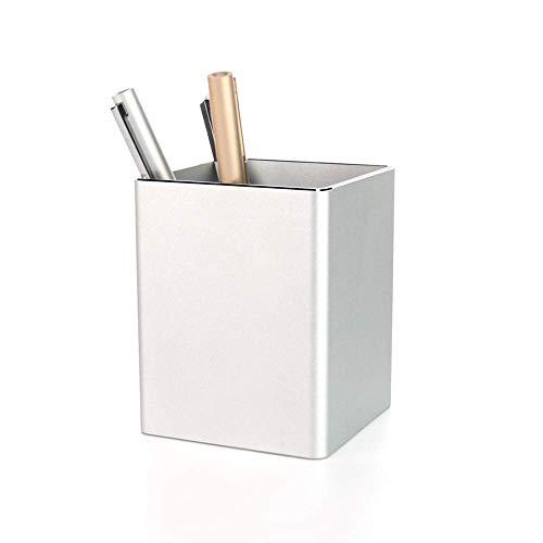 XUSHEN-HU Titular de la Pluma lápiz Metal Titular de la Pluma Escritorio Suministros de Aluminio y Organizador de la Copa Almacenamiento estacionario Robusta Bolígrafo