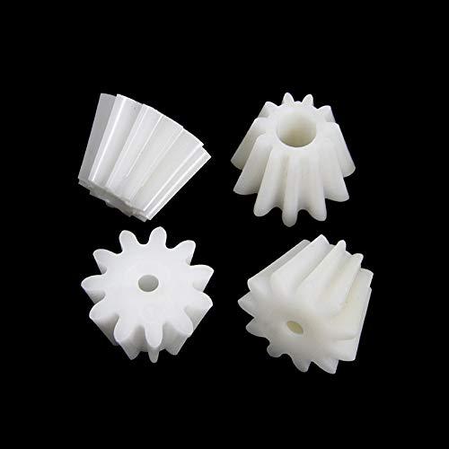 Sankuai 4pcs Meat Grinder Pinion Spare Parts Mincer Plastic Gear Attachment For Bosch MFW15011550 MUM4505 5213 5424 Kitchen Appliance