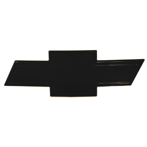 All Sales 96296K Ami Chevy Bowtie Grille Emblem with Border, Black