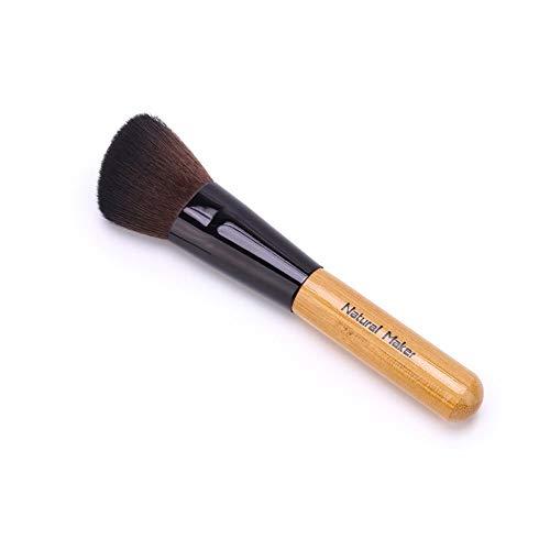 Drametree Capacité de réparation tête douce oblique pinceau maquillage pinceau silhouette brosse visage ombre pinceau brosse lâche pinceau maquillage peluche maquillage tête naturelle brosse tête défi