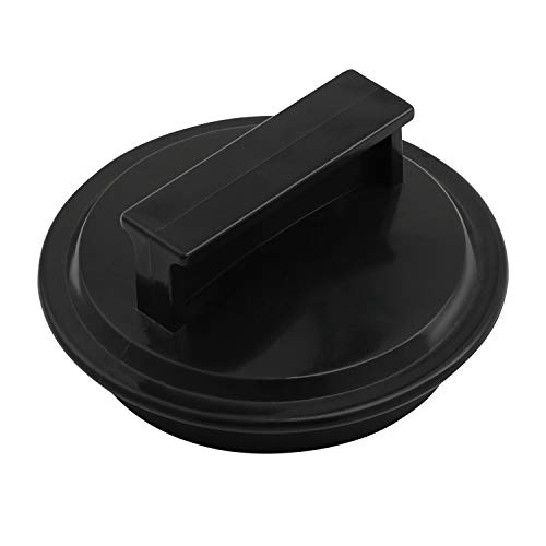 Garbage Disposal Drain Stopper 2 7/8 Inch 75cm Plastic Black Garbage Disposal Plug For Most Waste King Garbage Disposer and Other EZ Mount Disposals