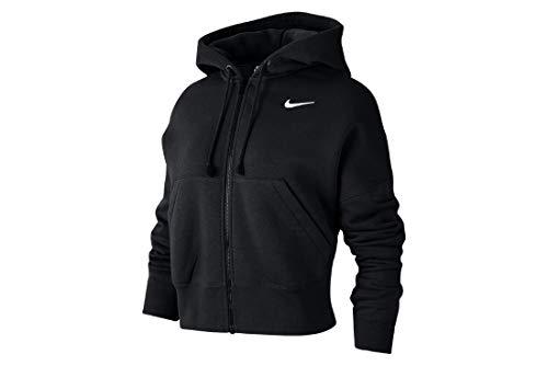 Nike CK1505-010_L Felpe, Black, L da Donna
