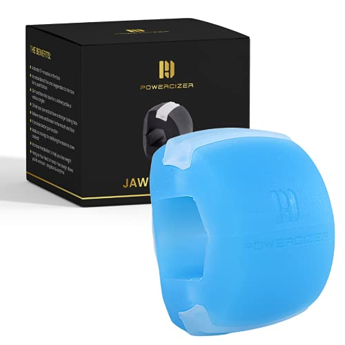 Jaw Exerciser For Women and Men - Jawline Exerciser - Powerful Jaw Trainer - Define Your Jawline - Slim and Tone Your Face - Mouth Exerciser and Neck Toning - Double Chin Reducer - Jawline trainer