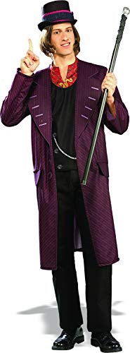 Rubie's Charlie and The Chocolate Factory Willy Wonka, Multicolored, One Size Costume