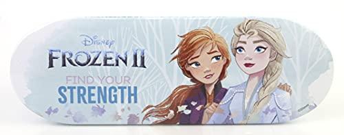 Markwins Disney Frozen Adventure Lip & Face Tin - Set Trucchi Per Bambine - Astuccio In Latta Con Kit Trucchi Frozen E Accessori Colorati - Giochi Frozen E Regali Per Bambini - 70 g