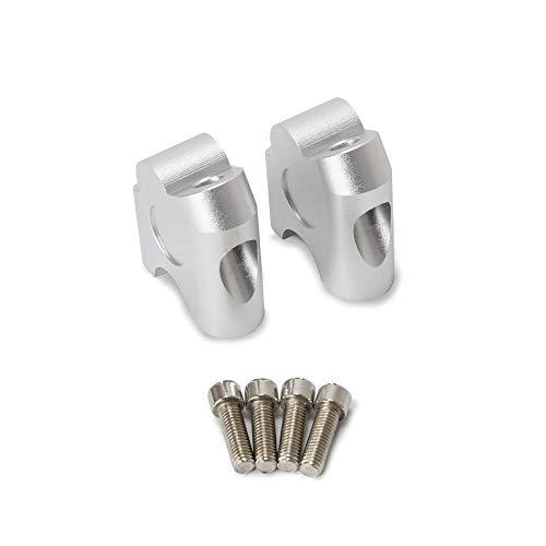 KKmoon Elevador Manillar 22mm Soporte Elevador para Manillar Abrazadera de Barras Universal