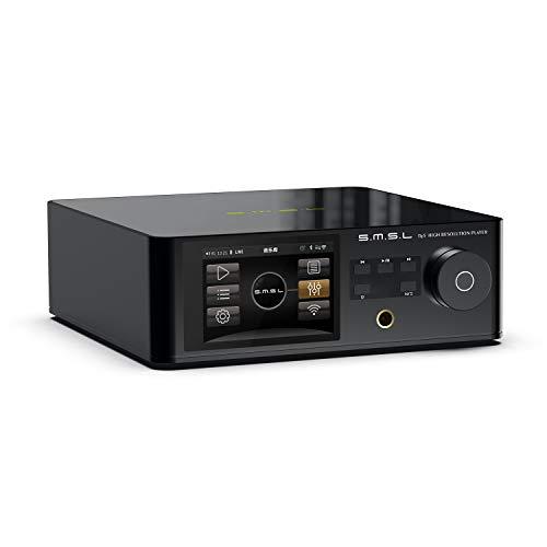 S.M.S.L DP5 - Lettore musicale di rete ad alta fedeltà, ES9038PRO Chip ES9038PRO, decodifica fissa DSD, Bluetooth, decodifica completa MQA, riproduzione completa