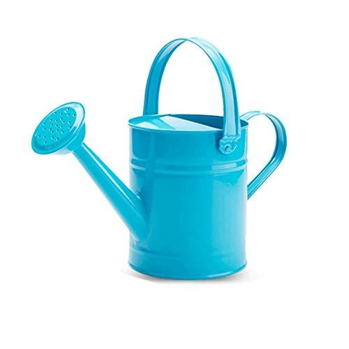 NJIUHB Gieter, gieter Tuingereedschap Huishoudelijke gieter Spuitbus Handig, roze, groen, blauw, 1.5L (Color : Blue)