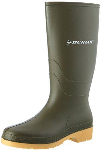 Dunlop Protective Footwear Unisex-Kinder Dunlop Dull Gummistiefel, Grün, 28 EU