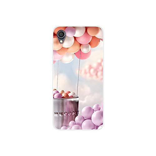 YZKJ Hülle für Asus Zenfone Live (L1) ZA550KL Cover,Weiche Handytasche Transparent TPU Handyhülle Silikon Tasche Schale Hülle Schutzhülle für Asus Zenfone Live (L1) ZA550KL (5.5