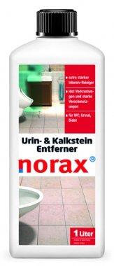 norax Urin- & Kalkstein-Entferner 1 l - beseitigt mühelos und kraftvoll Kalkablagerungen, Urinstein, Rostflecken und hartnäckige Verschmutzungen
