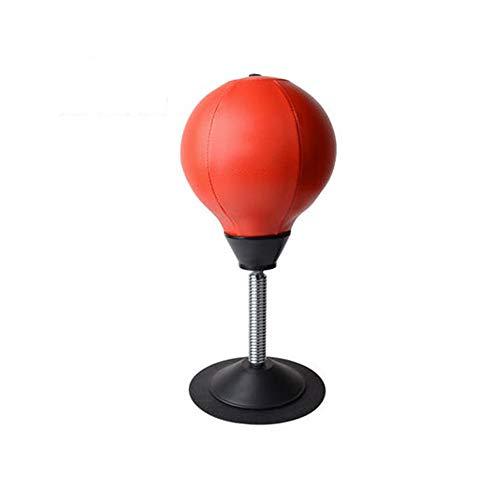 Desktop-boksbal, verticale bokssnelheidsbal, opblaasbare ontspanningssnelheid-bokszak voor volwassenen en kinderen Emotionele ventilatie