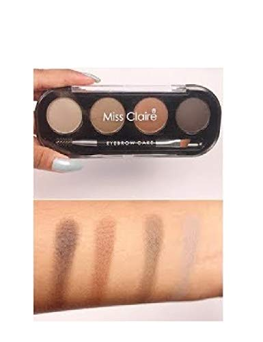 Miss Claire Women's Soft and Natural Eyebrow Makeup Cake