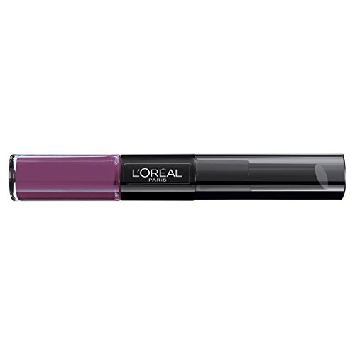 L'Oreal Paris Lippen Make-up Infaillible Lippenstift, 209 Violet Parfait /Liquid Lipstick für 24...