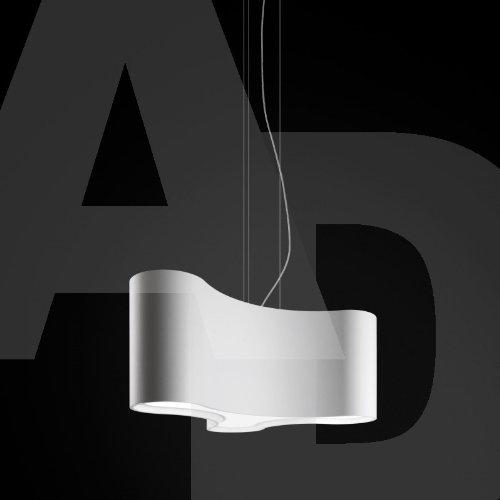 Ameba Single - Lámpara de techo, color blanco