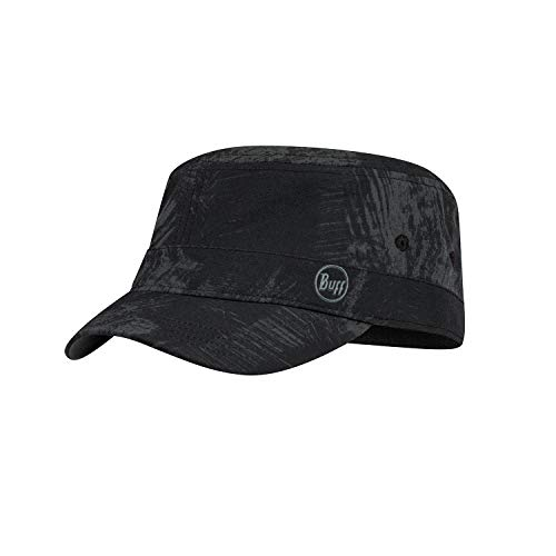 Buff Military Cap Gorra, Unisex-Adult, Negro (Black), L/XL