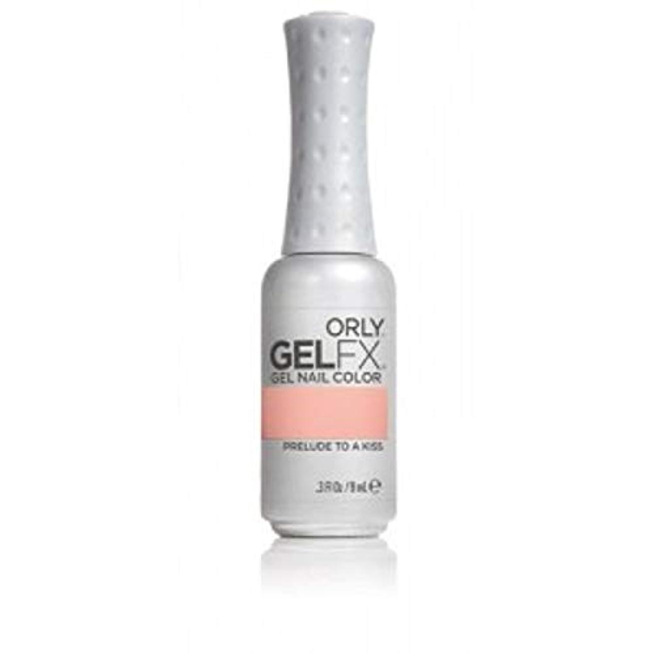 一致する幸運小人Orly GelFX Gel Polish - Prelude to a Kiss - 0.3oz/9ml