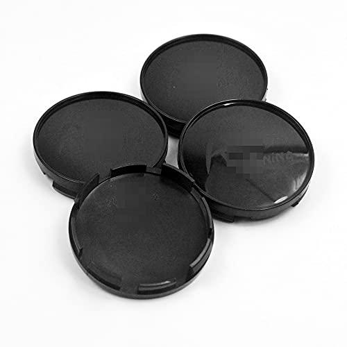 TUQYED Tapa del Centro de la Rueda para 4pcs 60mm 58mm Cajas de la Rueda de automóvil Caps Caps 4B0601170 4B0601170 FIT Compatible con Levante 2017 for A4 A6 S6 Allroad Car Rims ABS