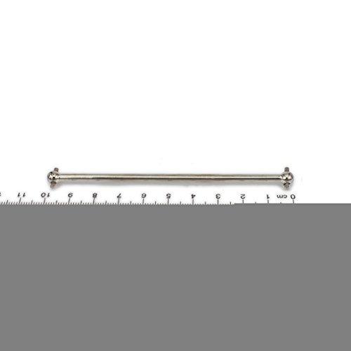 "2x 3.94/"" Steel Universal Driven Dogbone for FS RC 1:10 Truck 583104 Silver"