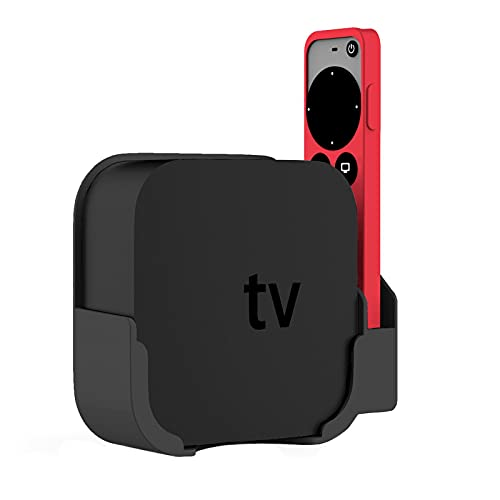 JINGLING Soporte de TV para montaje en pared, compatible con TV de 4ª y 4K, con funda protectora de silicona, soporte de pared compatible para Smart TV 4/4K